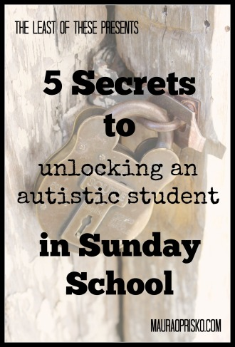5 secrets for sunday school