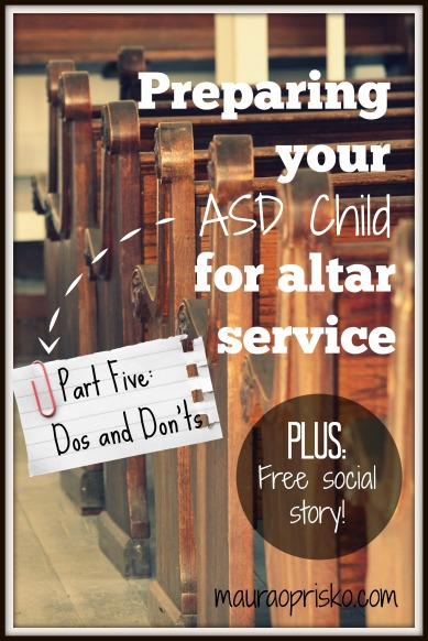 preparing for altar service pt5