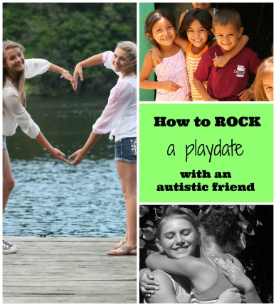 Autism playdate collage