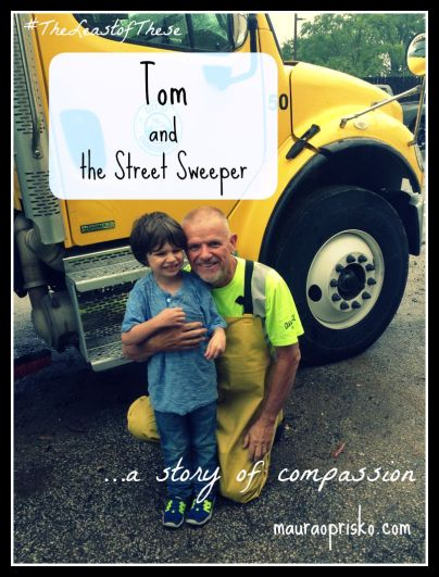 Tom and the Street Sweeper