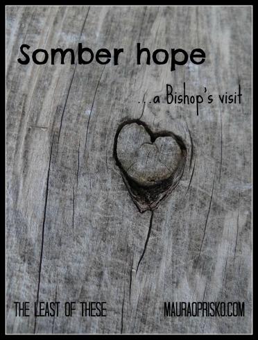 Somber hope