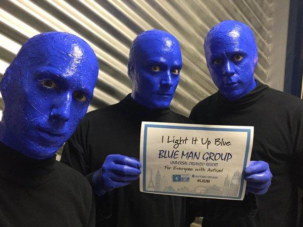 LIUB Blue Man